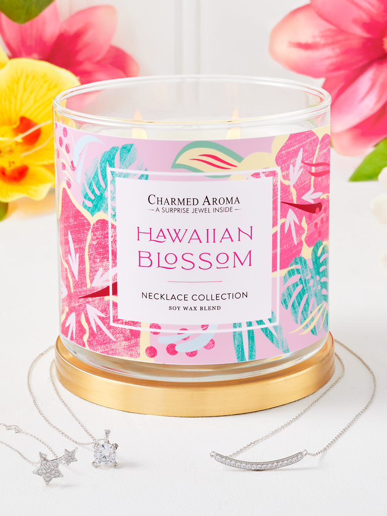 Hawaiian Blossom Candle - Necklace Collection