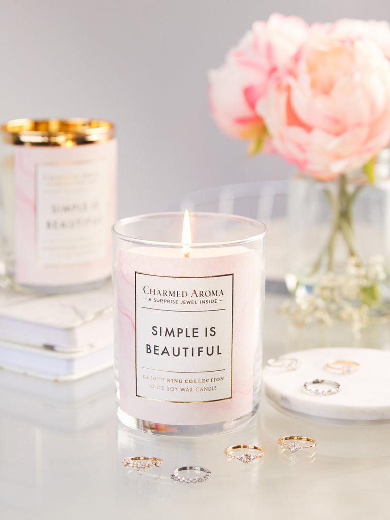 Simple Is Beautiful Candle - Dainty Ring Collection