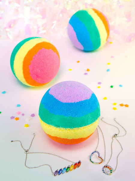 Rainbow Bath Bomb - Rainbow Bracelet Collection