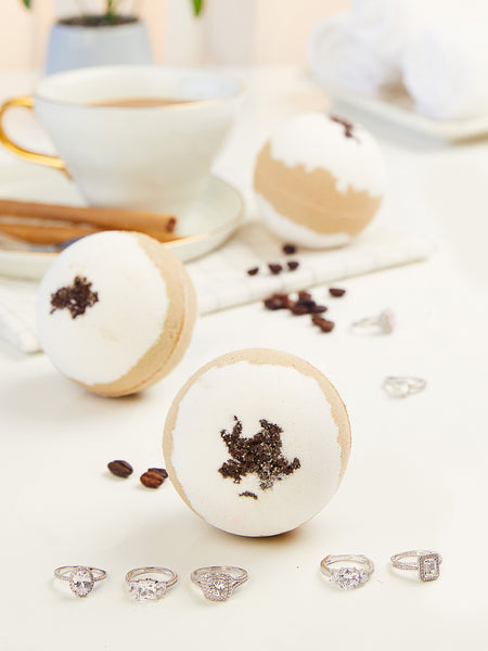 Coffee Bath Bomb - Classic Ring Collection