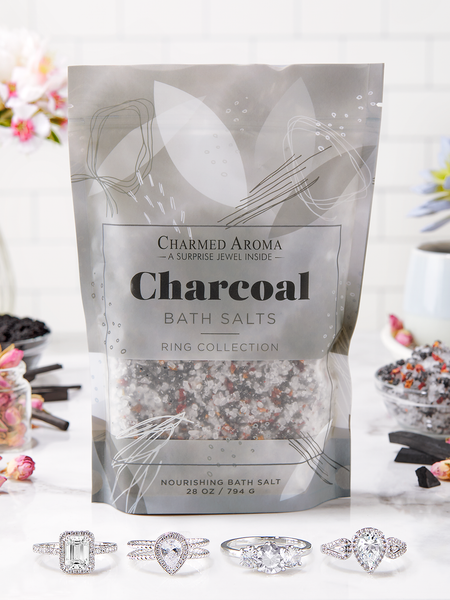 Charcoal Bath Salts - Ring Collection
