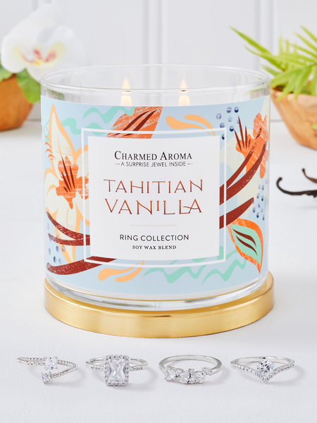 Tahitian Vanilla Candle - Ring Collection