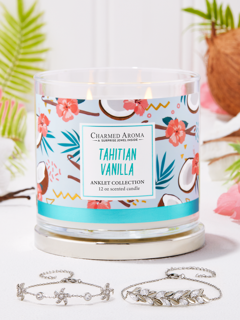 Tahitian Vanilla Candle - Anklet Collection