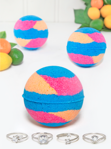 Citrus Crush Bath Bomb - Ring Collection
