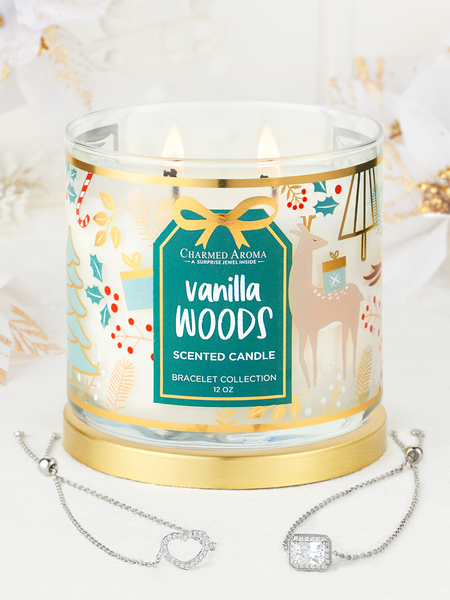 Vanilla Woods Candle - Bracelet Collection