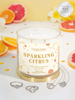 Sparkling Citrus Candle - Dainty Ring & Necklace Collection