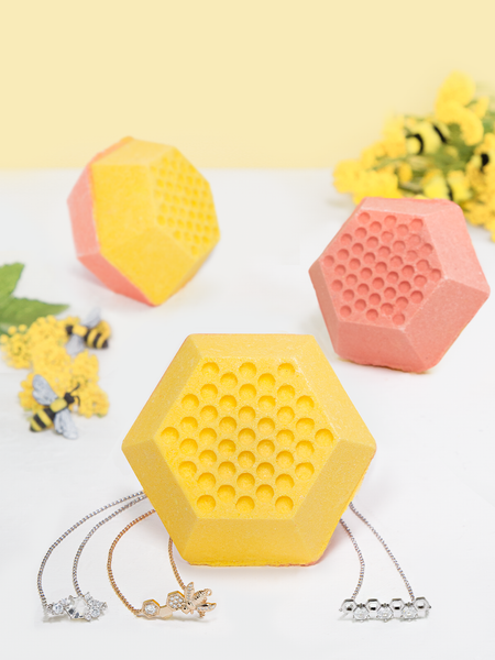 Bee My Honey Bath Bomb - Honey Bee Bracelet Collection