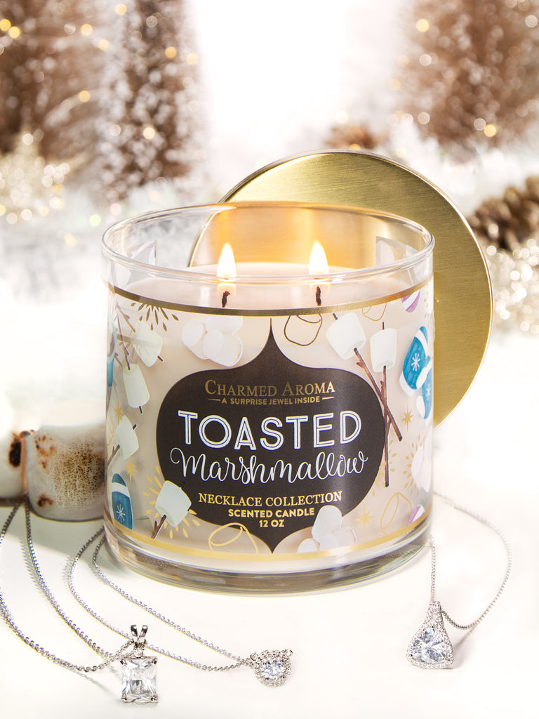 Toasted Marshmallow Candle - Classic Necklace Collection