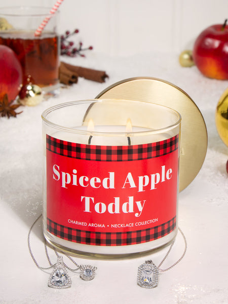 Spiced Apple Toddy Candle - Classic Necklace Collection