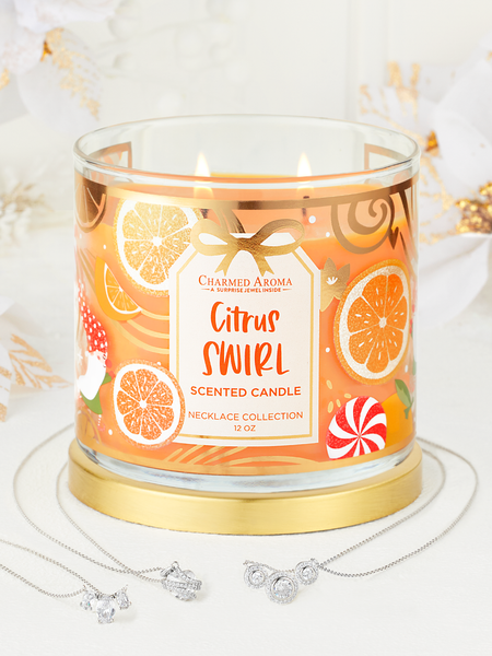 Citrus Swirl Candle - Necklace Collection