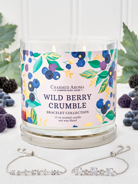 Wild Berry Crumble Candle - Bracelet Collection