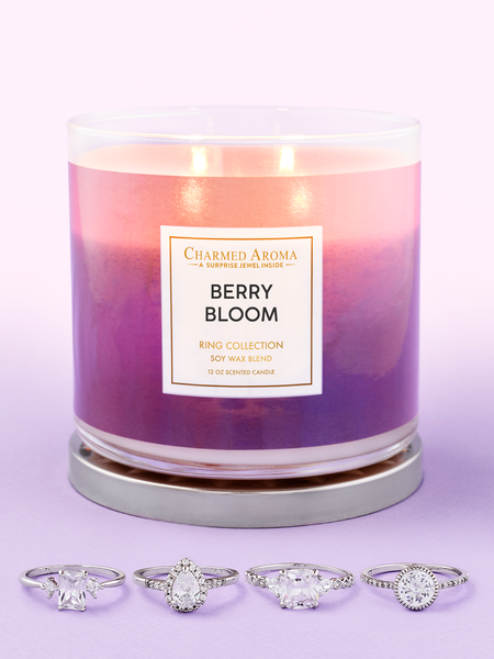 Berry Bloom Candle - Ring Collection