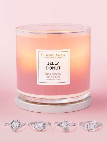 Jelly Donut Candle - Ring Collection