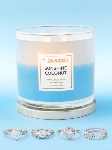Sunshine Coconut Candle - Ring Collection