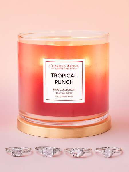 Tropical Punch Candle - Ring Collection