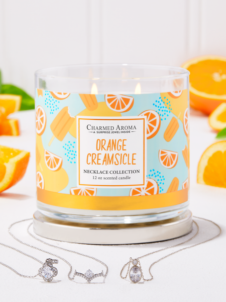 Orange Creamsicle Candle - Necklace Collection