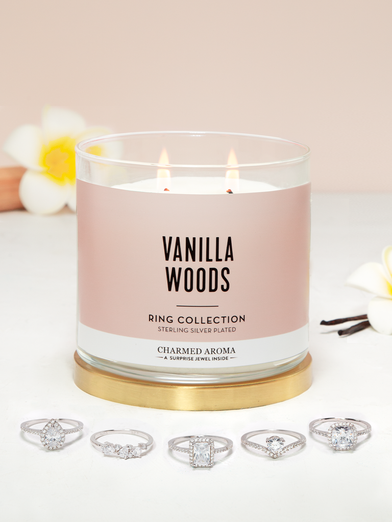 Vanilla Woods Candle - Ring Collection