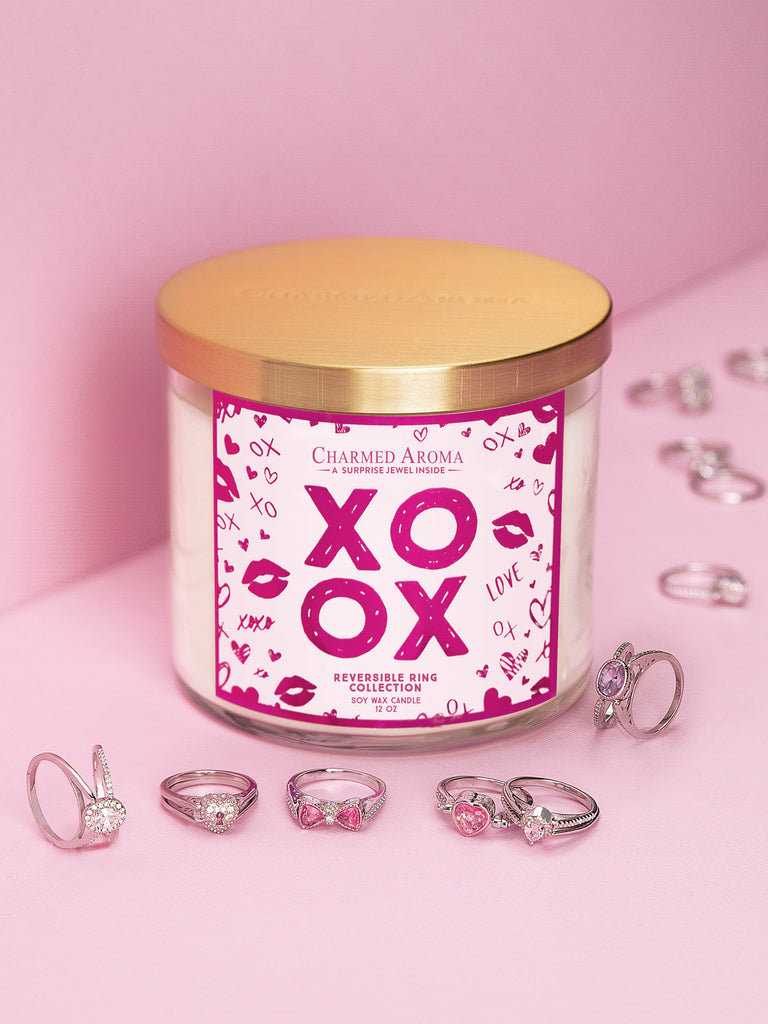 XOXO Candle - Reversible Ring Collection