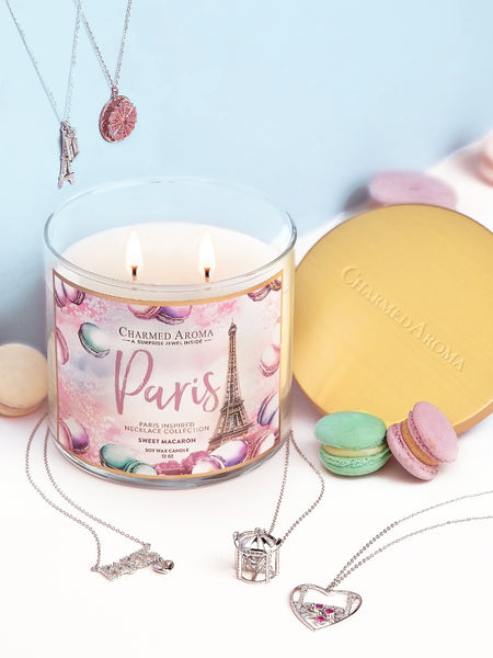 Paris Candle - Paris Necklace Collection