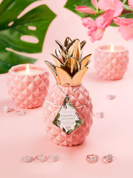 Pineapple Candle - Tropical/Classic Ring Collection