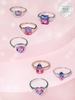 Cotton Candy Bath Bomb - 925 Sterling Silver Cotton Candy Tourmaline Ring Collection