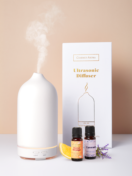 Ultrasonic Diffuser + Essential Oils Kit