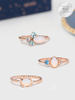 Moonstone Candle - Moonstone Ring Collection
