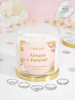 Always & Forever Candle - Dainty Ring Collection