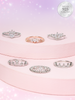 Princess Bath Bomb - Dainty Crown Ring Collection