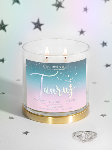 Taurus Candle - Zodiac Ring Collection