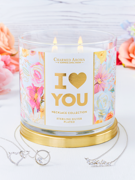 I Love You Candle - Necklace Collection