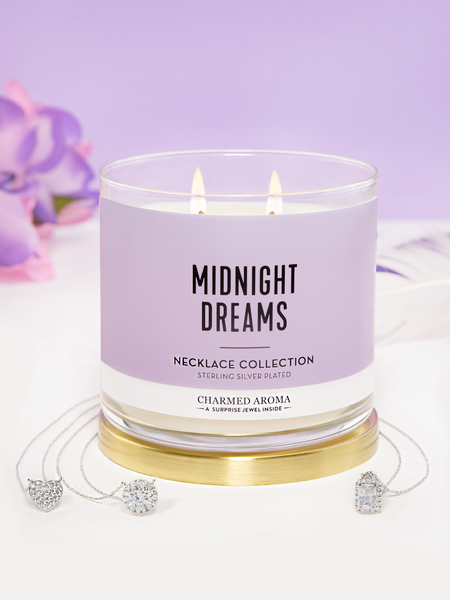 Midnight Dreams Candle - Necklace Collection