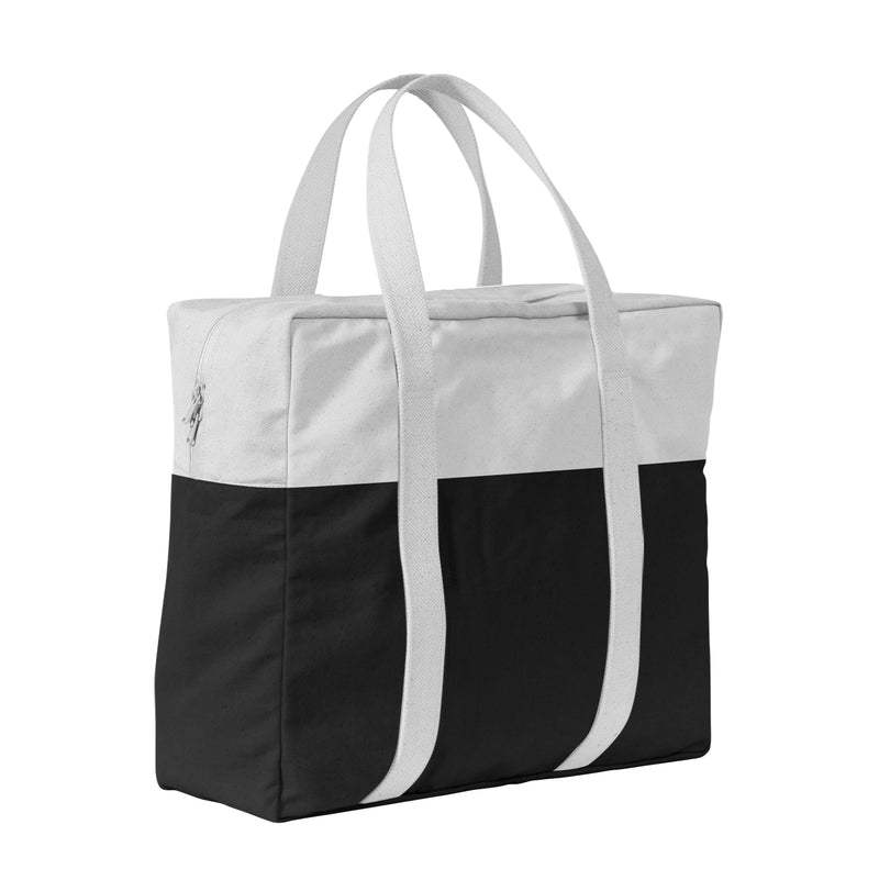 Two-Tone Boat Tote