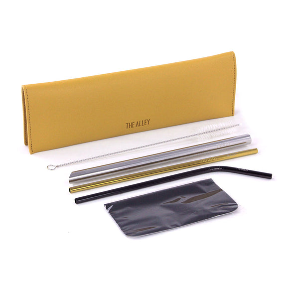 Straw Set (Yellow)