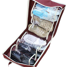 Load image into Gallery viewer, 6 Slots Portable Shoes Travel Storage