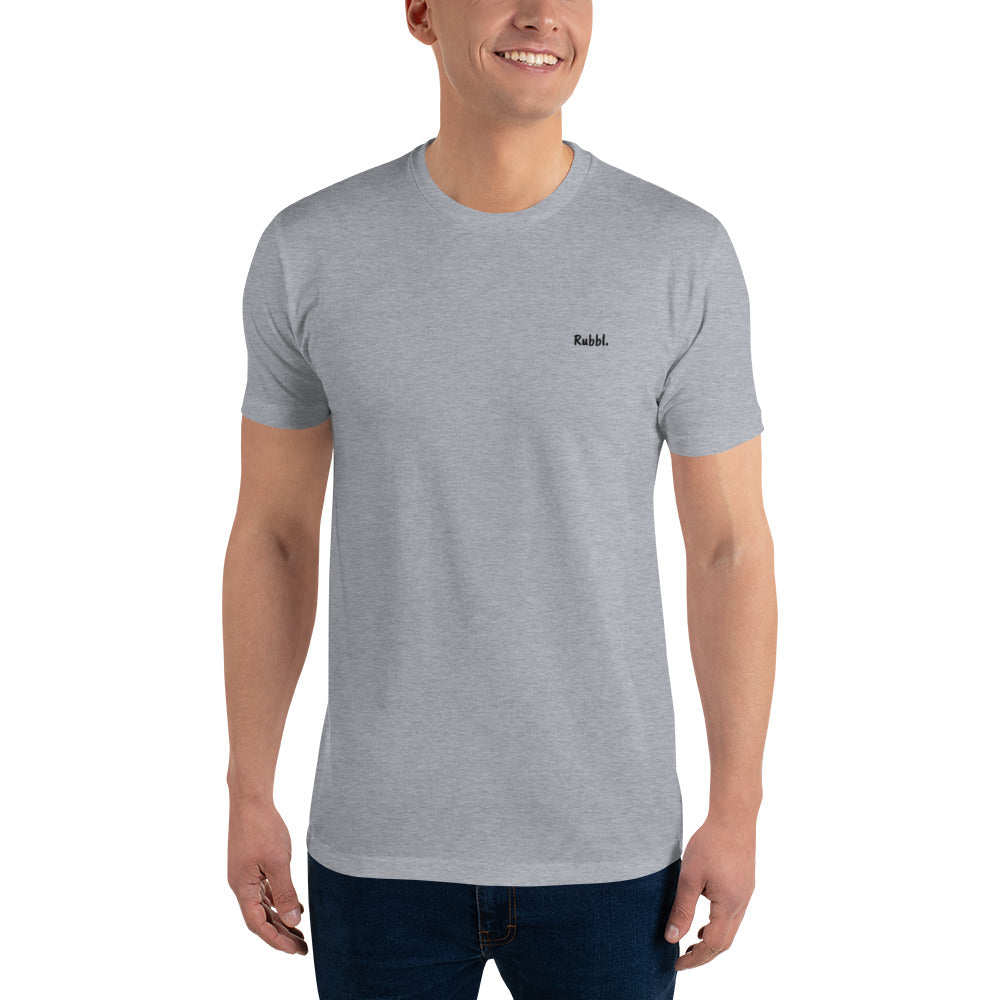 Rubbl Short Sleeve Fitted T-shirt
