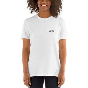 Personalised Year Short Sleeve T-Shirt - Design Your Own
