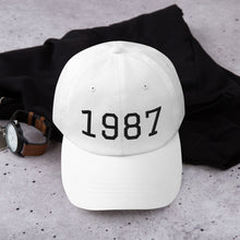 Load image into Gallery viewer, Personalised Year Baseball Cap - Design Your Own