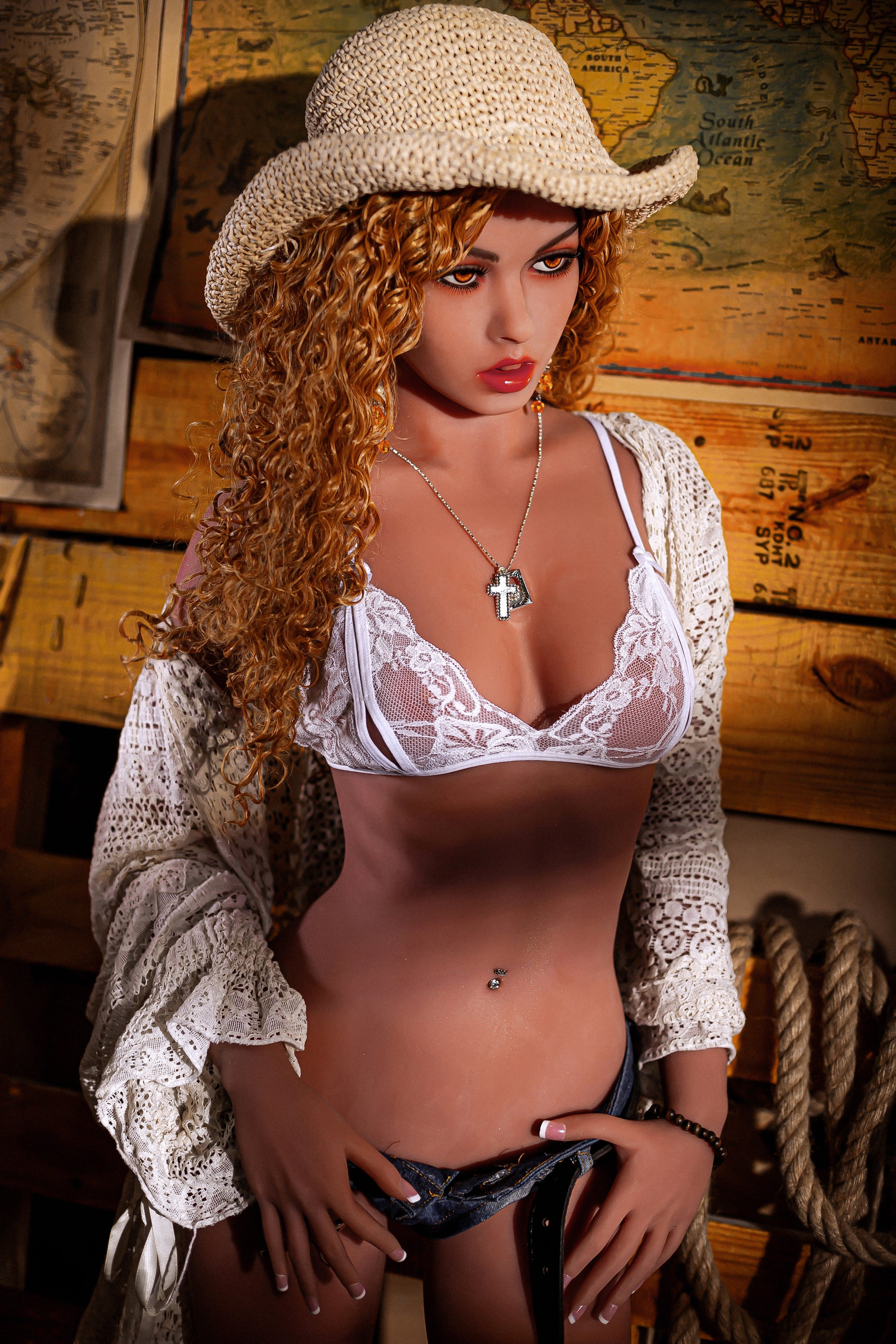 Kennedy - Cow Girl Sex Doll