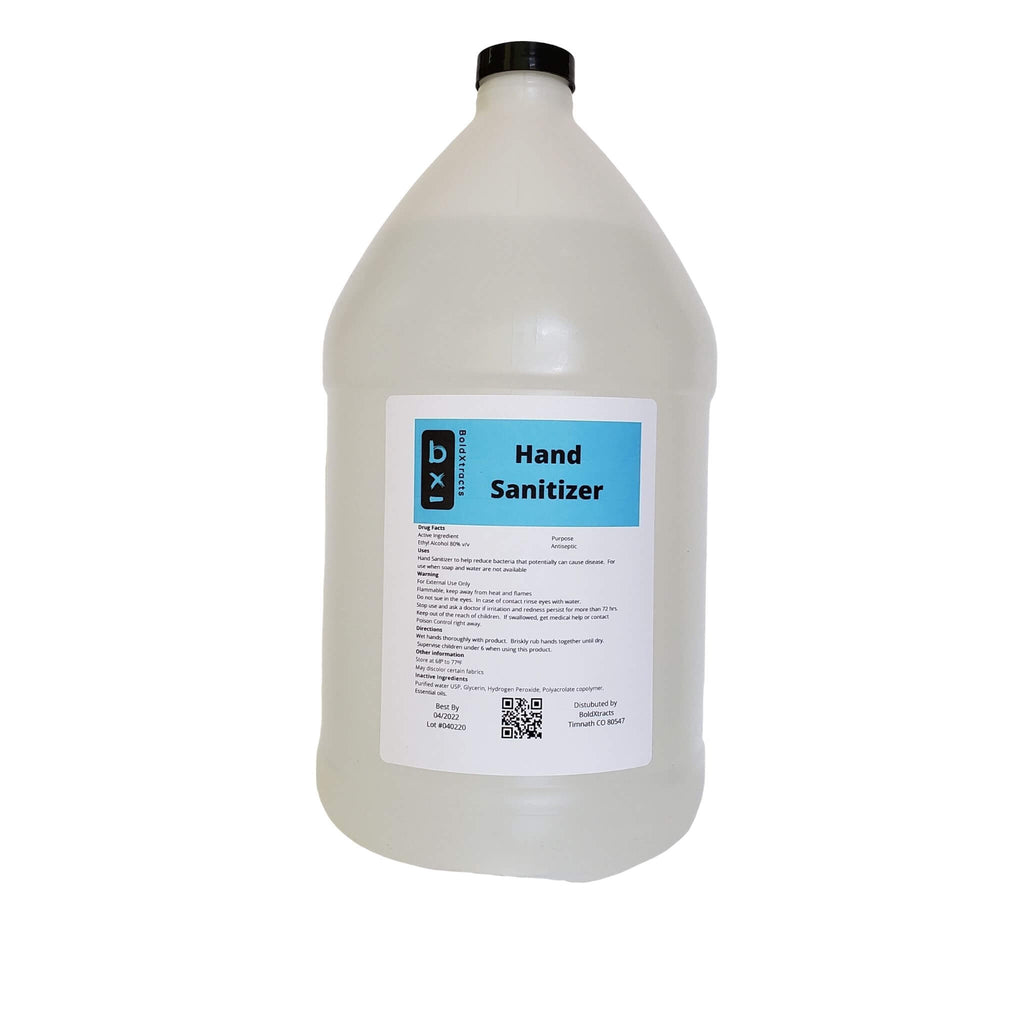 One Gallon Liquid Hand Sanitizer -  Case of 4 Gallons + 1 pump