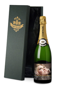 Personalised Classic Photo Upload Champagne
