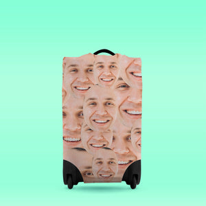 Faces All Over - Caseskin - Small | Bits & Bobbets