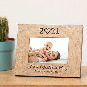 Personalised First Mother's Day Photo Frame