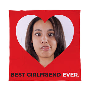 Best Girlfriend Ever - Photo - Fleece Throw | Bits & Bobbets