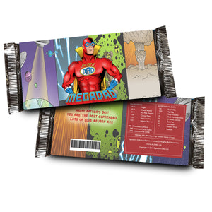 Personalised Mega Dad Chocolate Bar | Bits & Bobbets