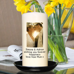 Personalised Photo Candle | Bits & Bobbets