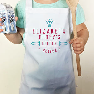 Mummy's Little Helper Cupcake Child's Apron | Bits & Bobbets