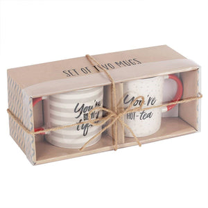 Personalised Tea Themed Mug Set | Bits & Bobbets