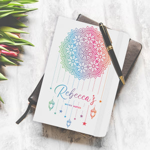 Personalised Dream Catcher A5 Notebook | Bits & Bobbets