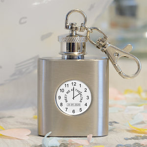 Meet Me At The Altar Hip Flask
